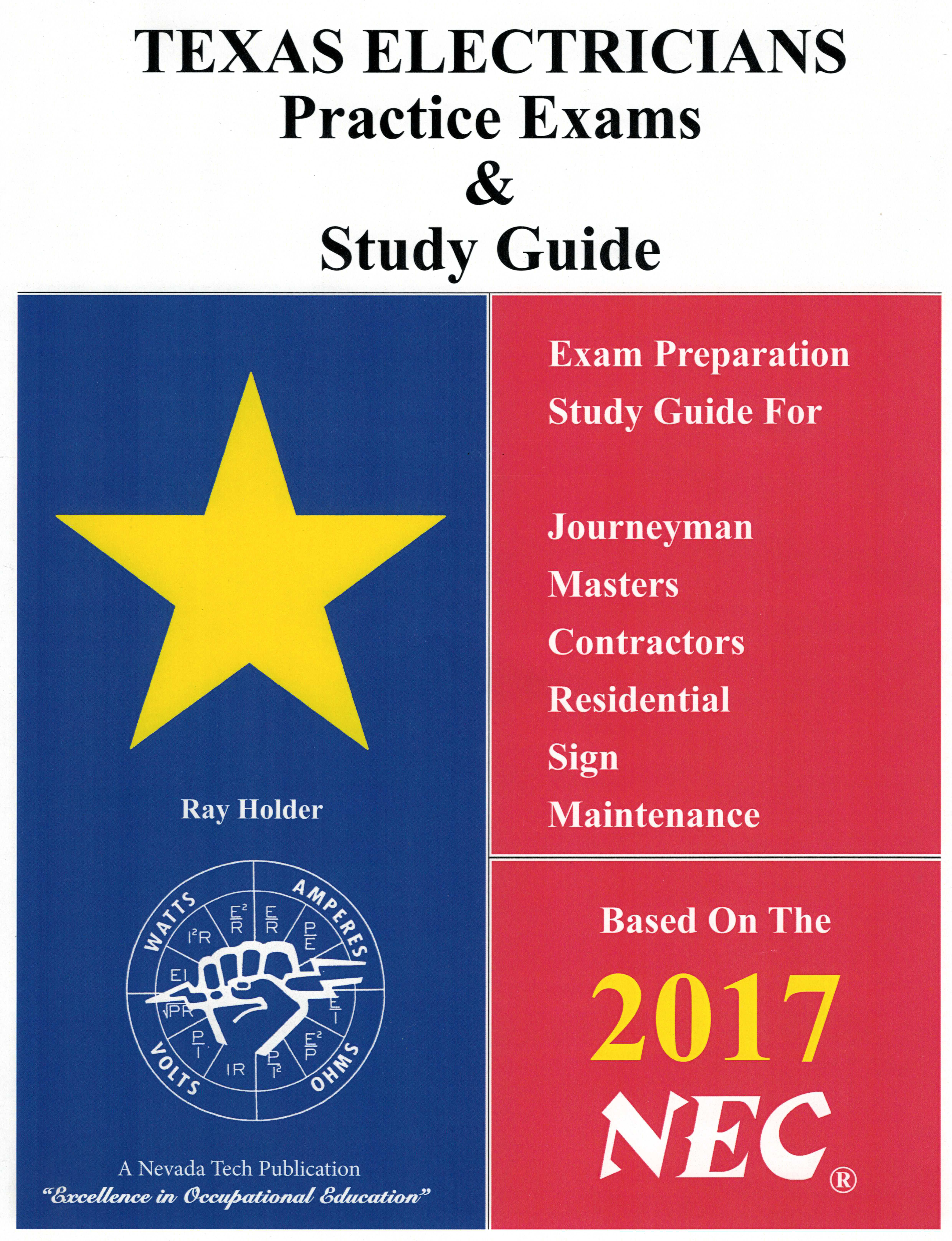 2017 texas electricians practice exams and study guide ray 2017 texas electricians practice exams and study guide xflitez Image collections